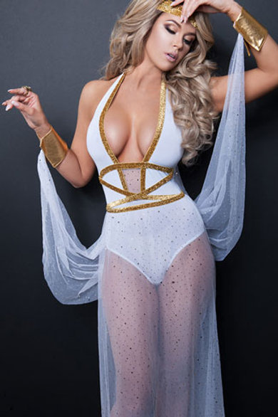 Beautiful Goddess Costume
