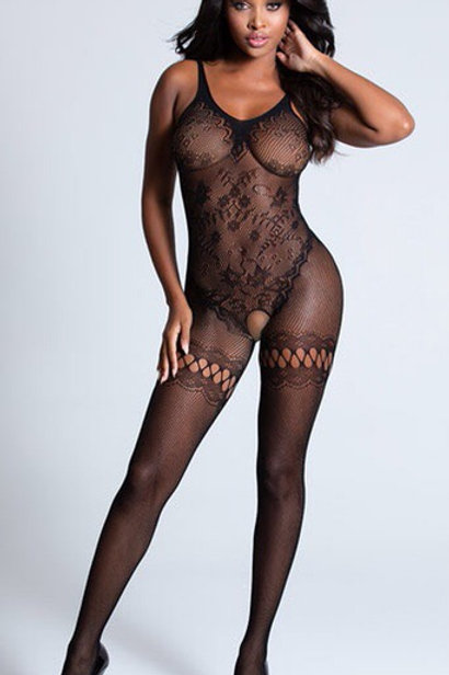 Lace Galarie Bodystocking