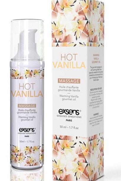 Hot Vanilla Massage Oil