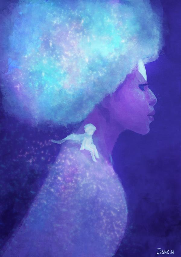 Wishing Star and Snow Child