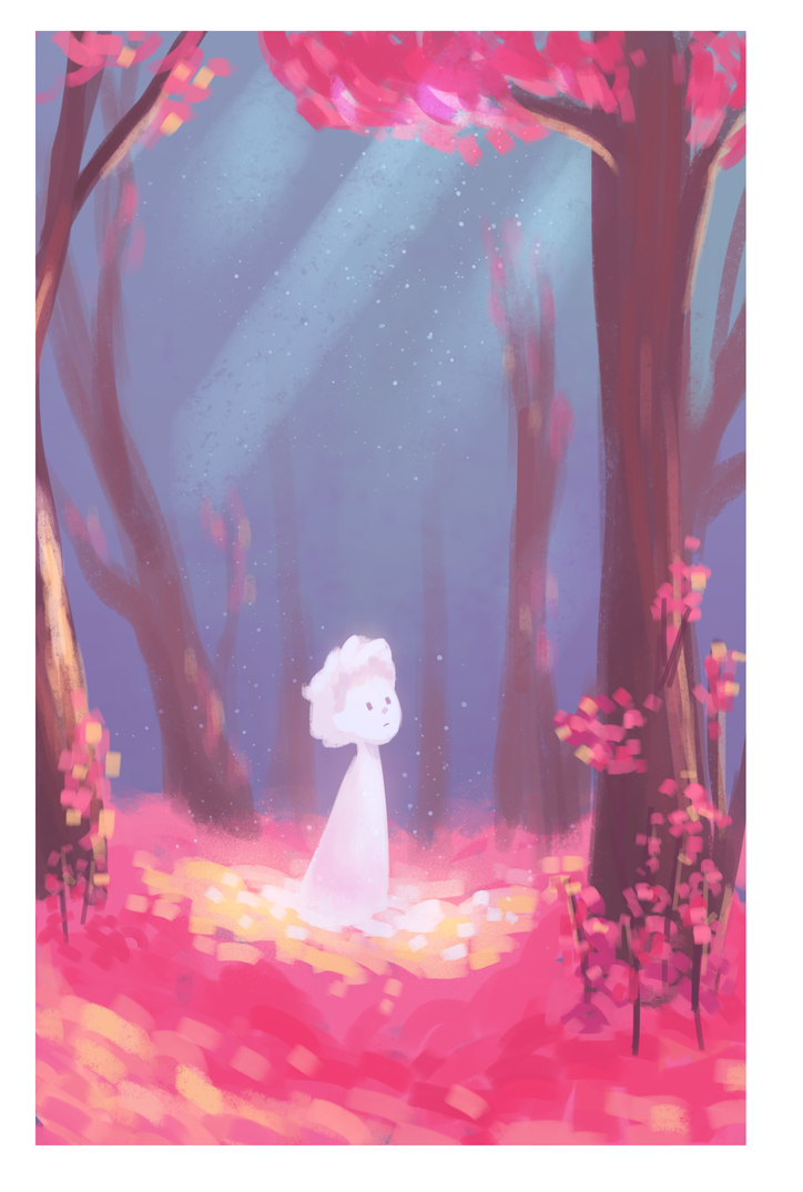 Pink Forest Snow Prince