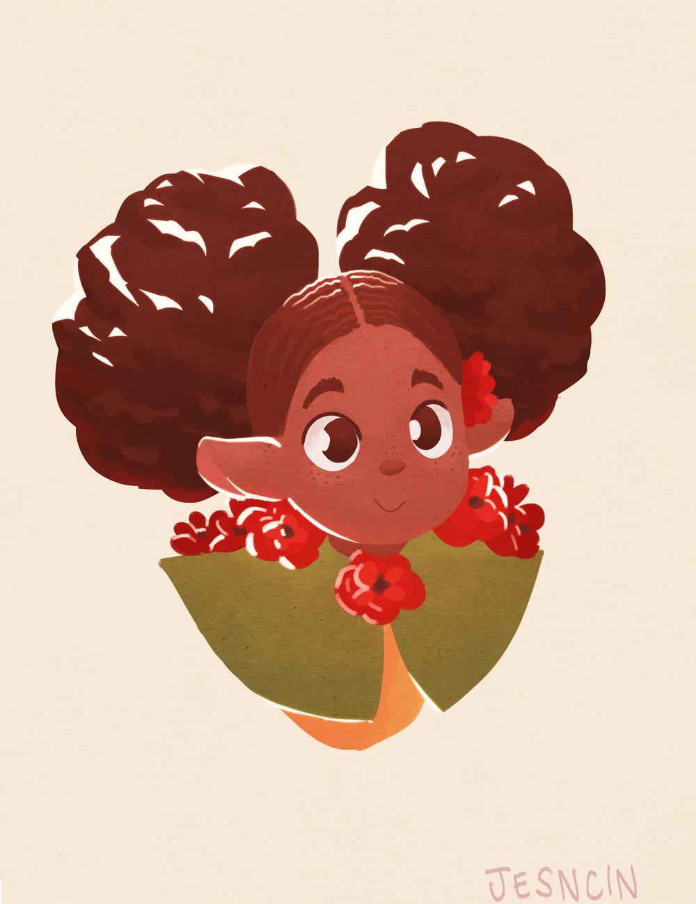 Poppy with poppys