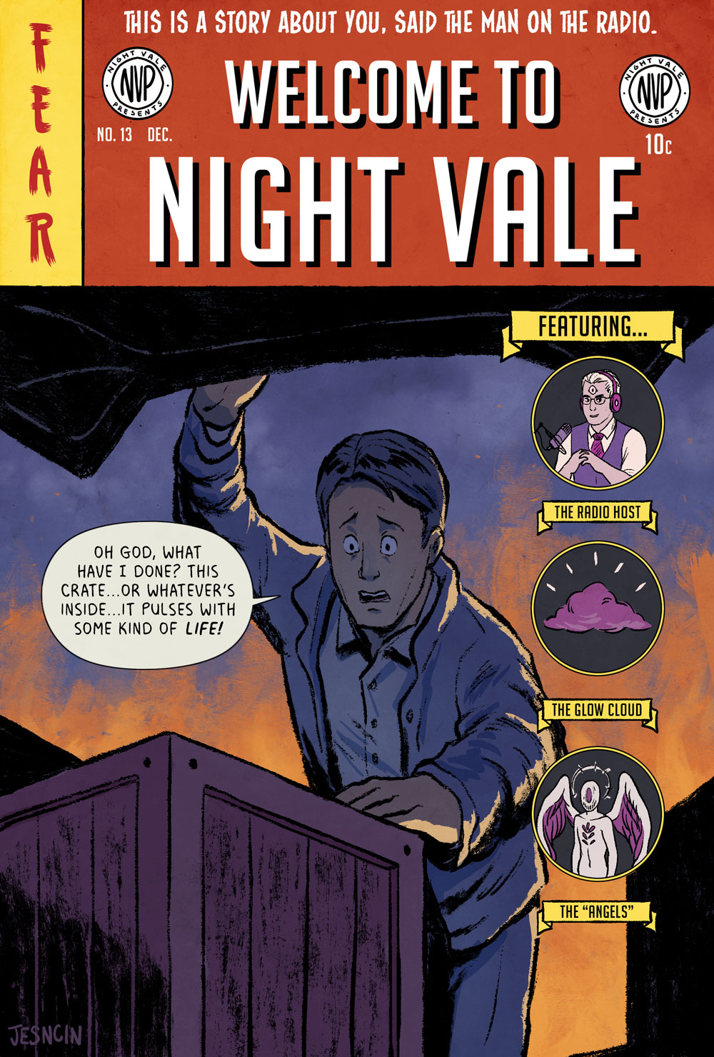 Nightvale Classic Cover