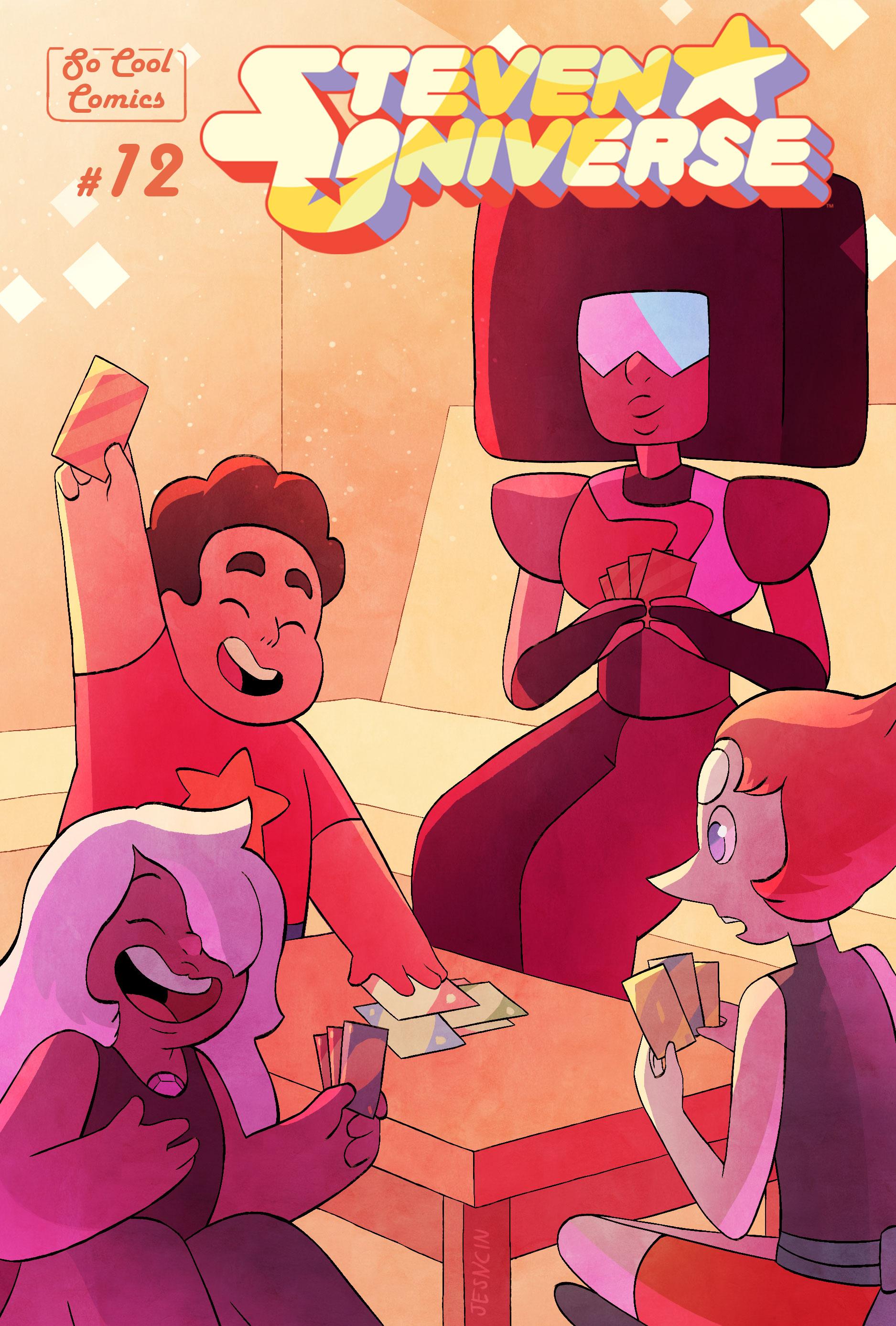 Steven Universe comic cover