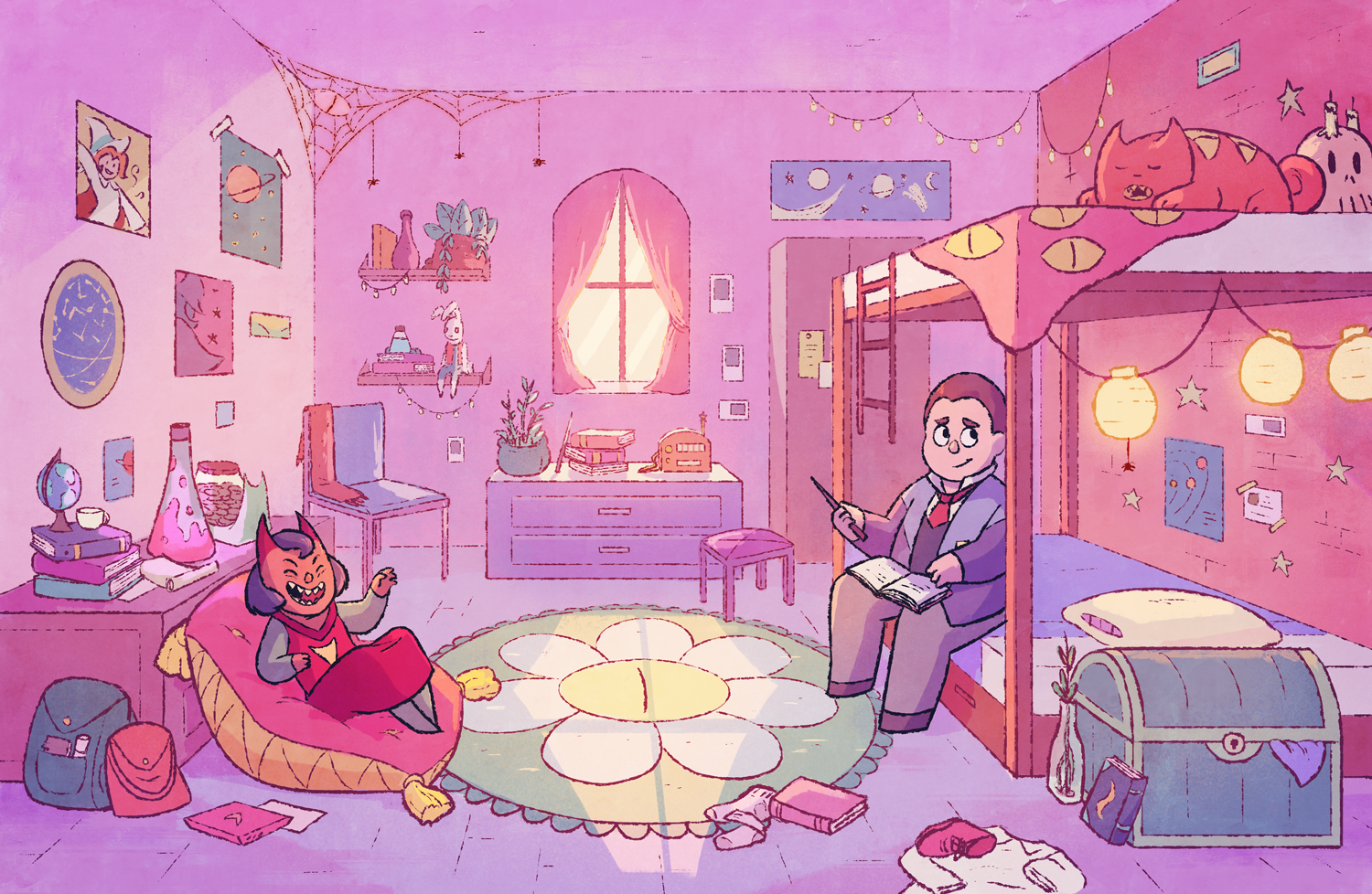 Wilbur and Amira's room