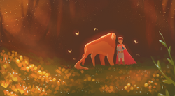 Prince and Beast- Rain Sparkles