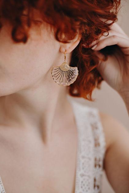 bijoux lyon boucle d'oreille femme mariage personnalisé