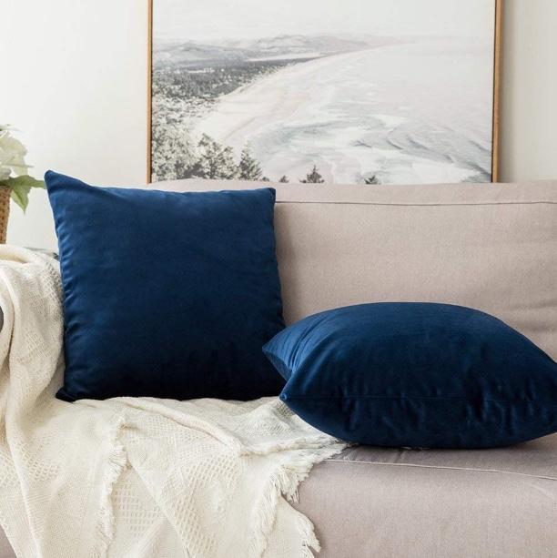 Velvet Pillow, $16.99