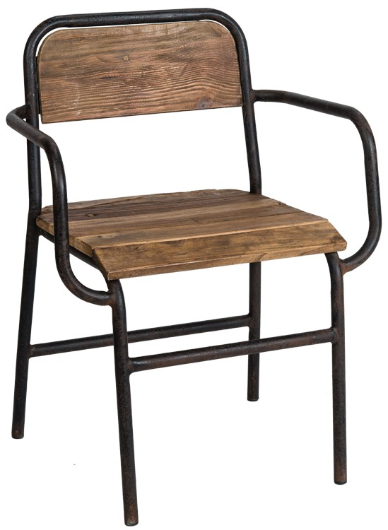 Metal & Wood Chair $119