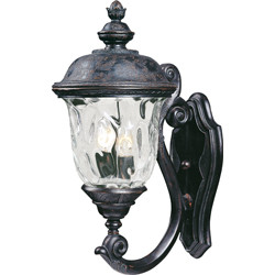 Carriage House VX 2-Light Outdoor Wall Lantern 40423WGOB