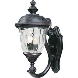 Carriage House VX 2-Light Outdoor Wall Lantern 40423WGOB