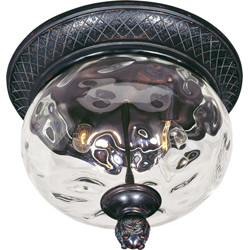 Carriage House 2-Light Outdoor Ceiling Mount 40429WGOB