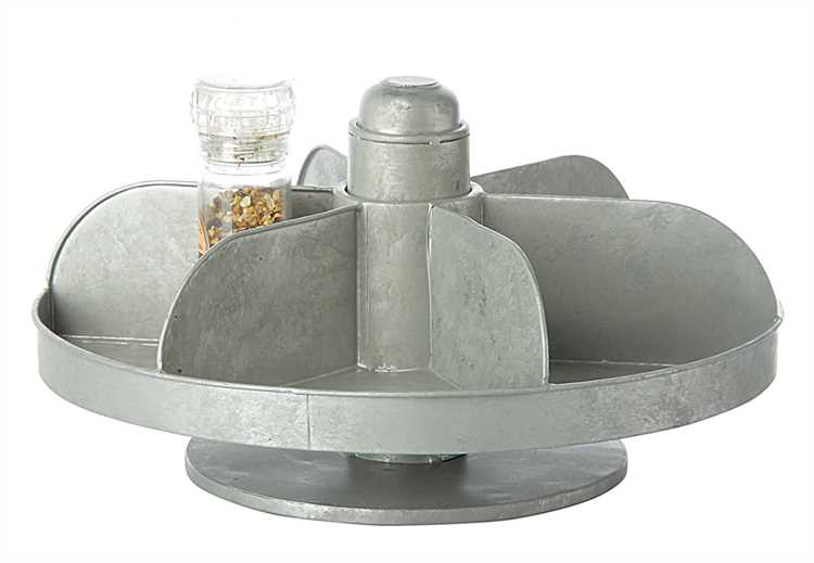 Galvanized Lazy Susan $49.99
