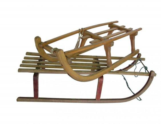 Vintage German Sled, $98
