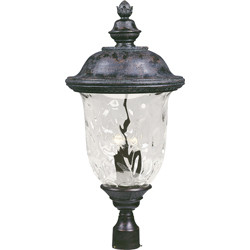 Carriage House VX 3-Light Outdoor Pole/Post Lantern 40421WGOB