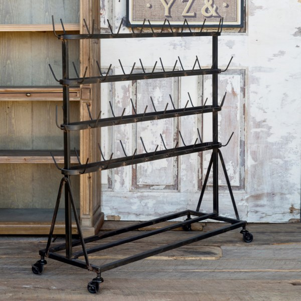 Merchants Metal Rolling Rack, $125