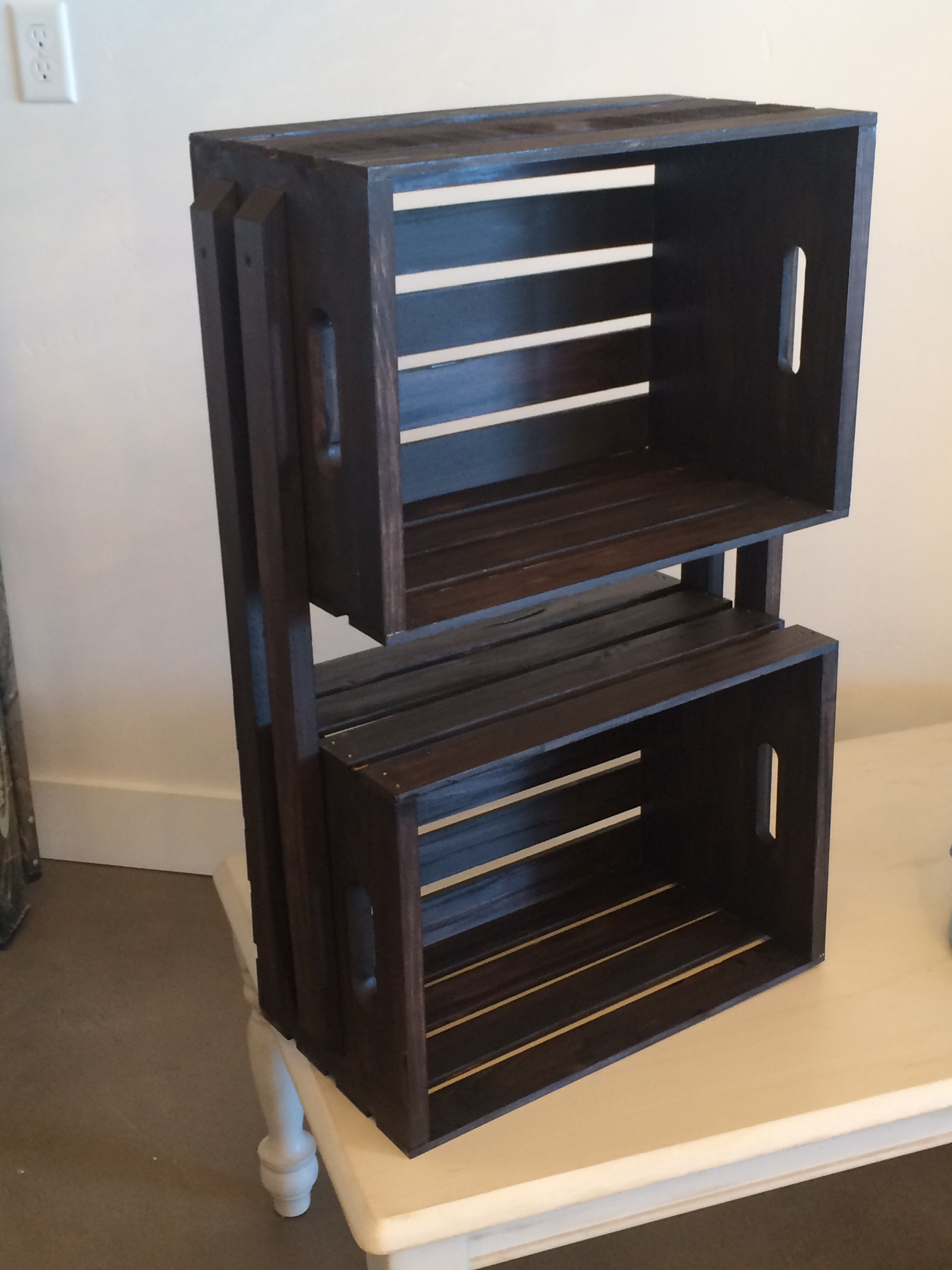 Double Crate Shelf, CLEARANCE: $65