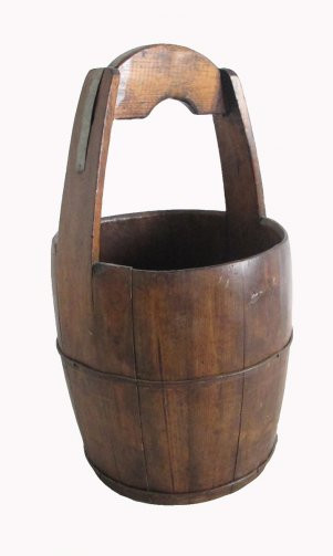 Handled Wooden Well Buckets, $68