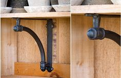 Cast Iron Wall Brackets $24