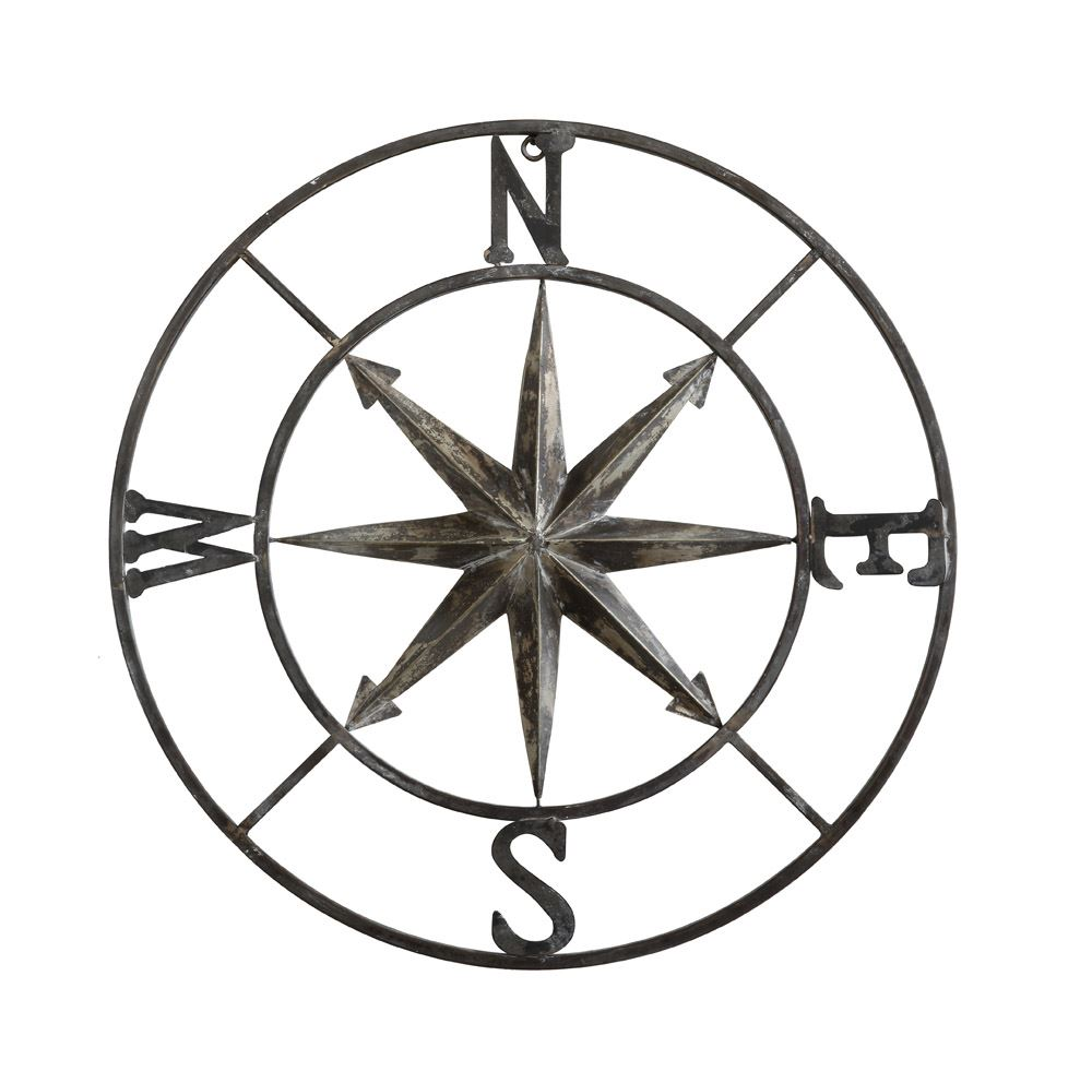 Compass Wall Decor, $46.99