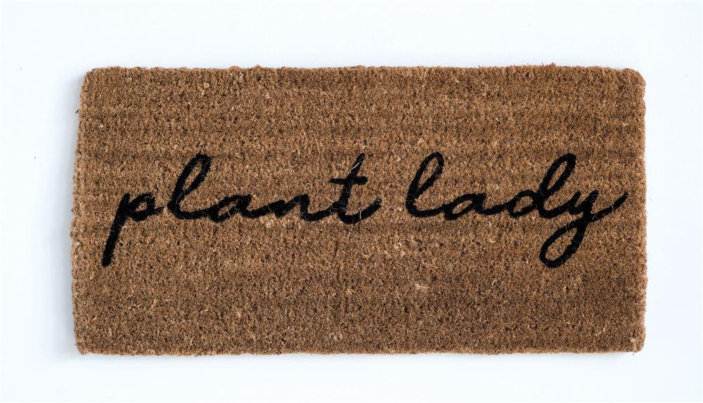 Plant Lady Doormat, $26