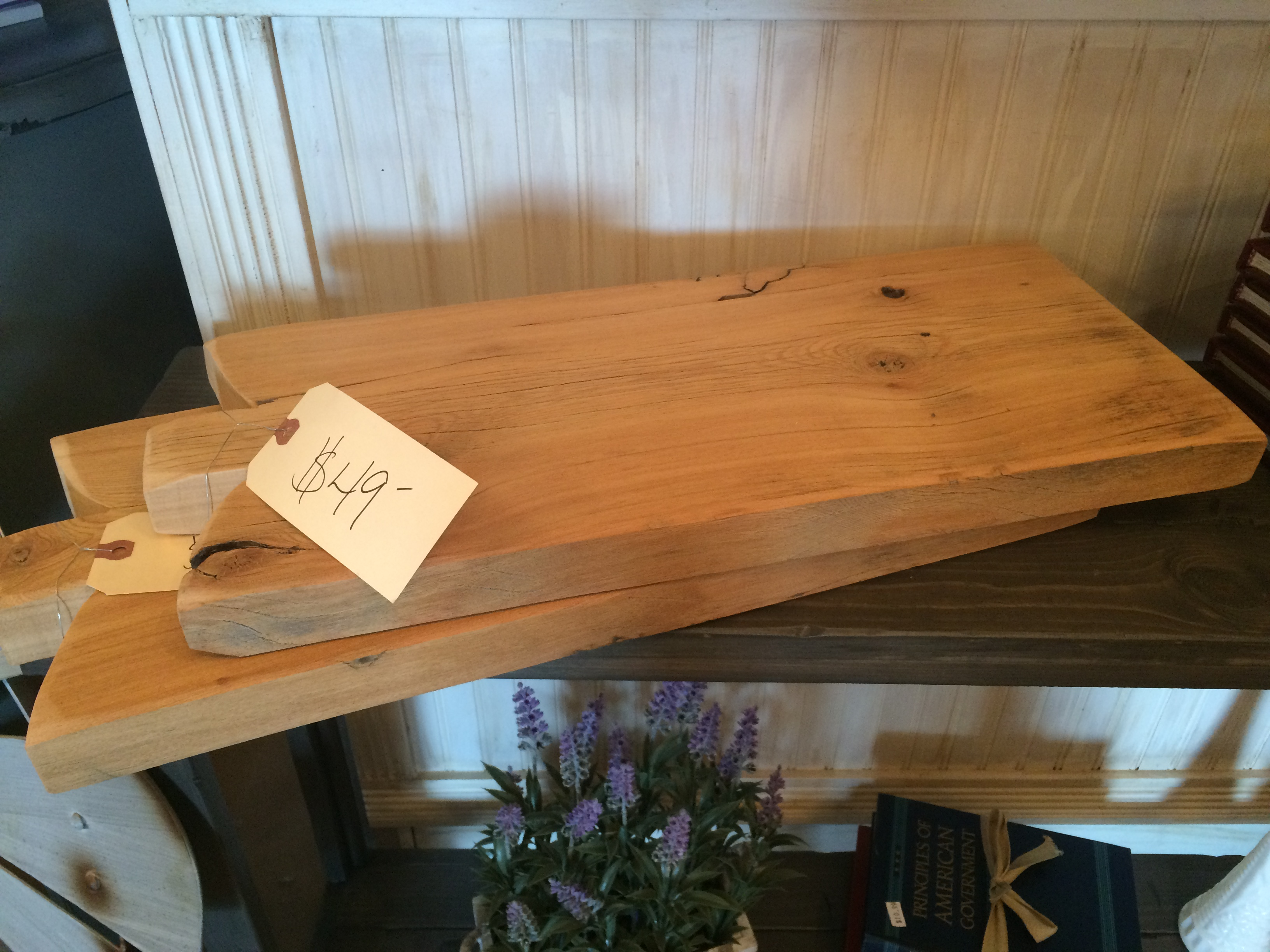 Wooden Cutting Board $49
