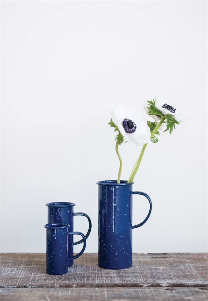 Blue Pitcher Set, $15