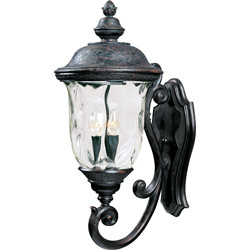 Carriage House VX 3-Light Outdoor Wall Lantern 40424WGOB