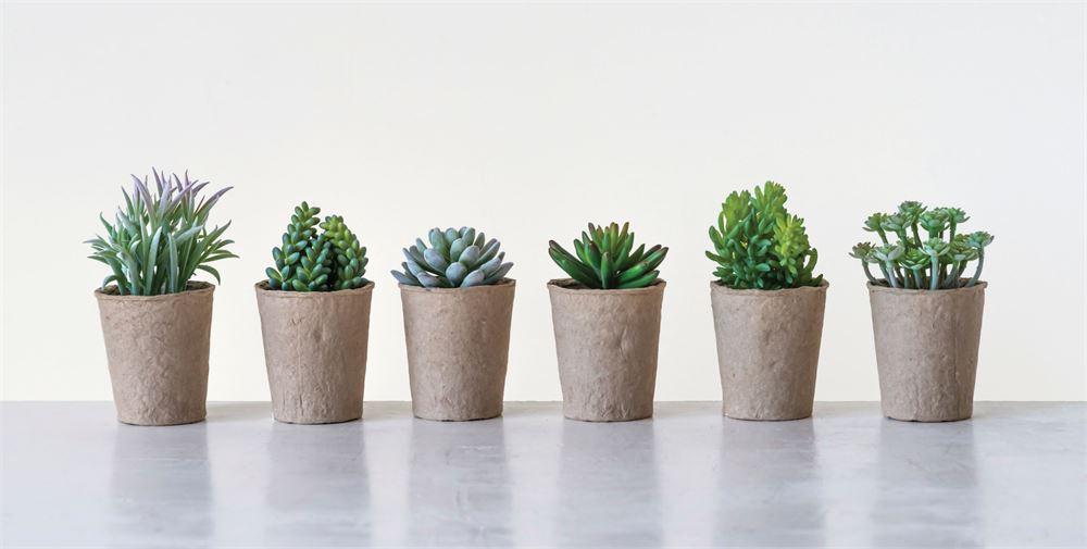 Faux Succulent, $7.99
