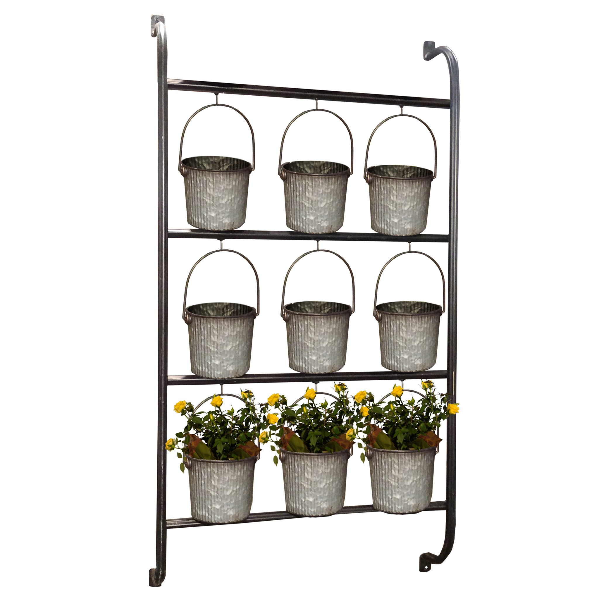 Wall Planter with Buckets, $129.99