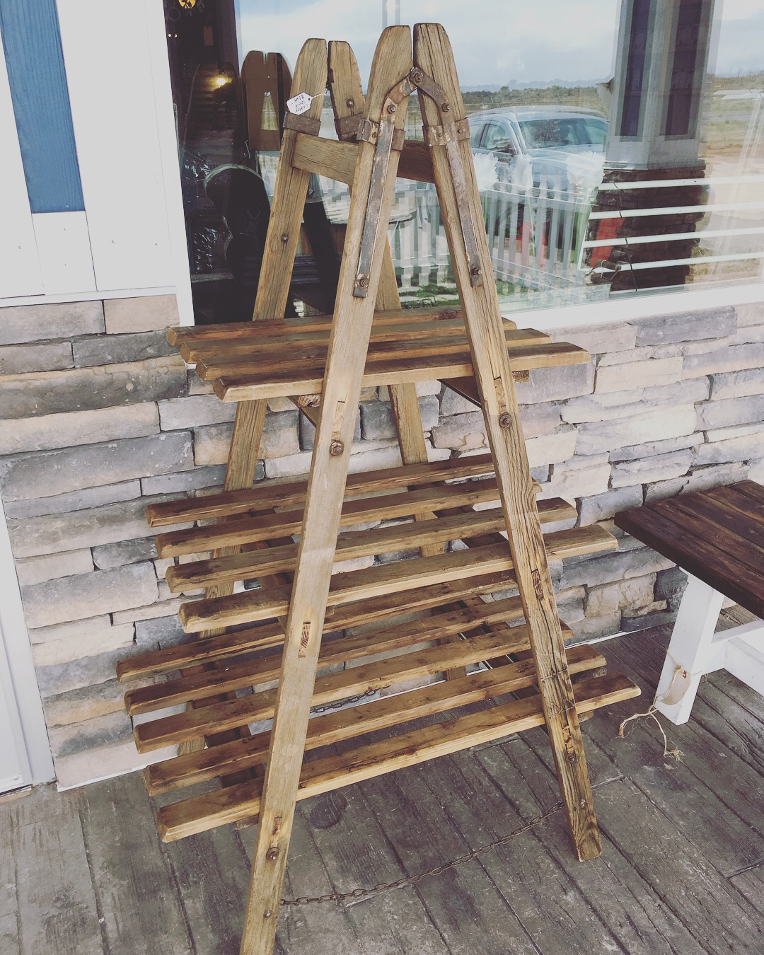 Vintage Ladder Shelf, $269