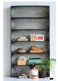 5-Tier Galvanized Shelf, $89
