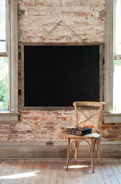 Large Schoolhouse Chalkboard, $99