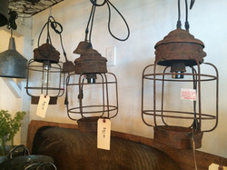 Vintage Lantern Pendants $90