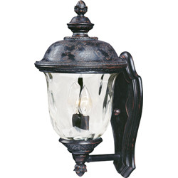 Carriage House VX 2-Light Outdoor Wall Lantern 40422WGOB