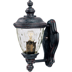 Carriage House VX 1-Light Outdoor Wall Lantern 40495WGOB