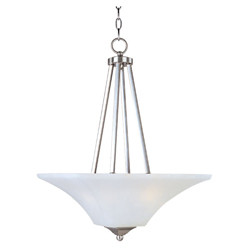 Aurora 2-Light Invert Bowl Pendant