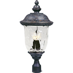 Carriage House VX 3-Light Outdoor Pole/Post Lantern 40420WGOB