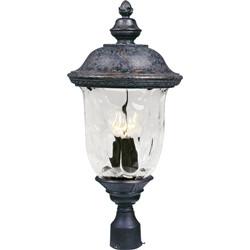 Carriage House VX 3-Light Outdoor Pole/Post Lantern 40420WGOB