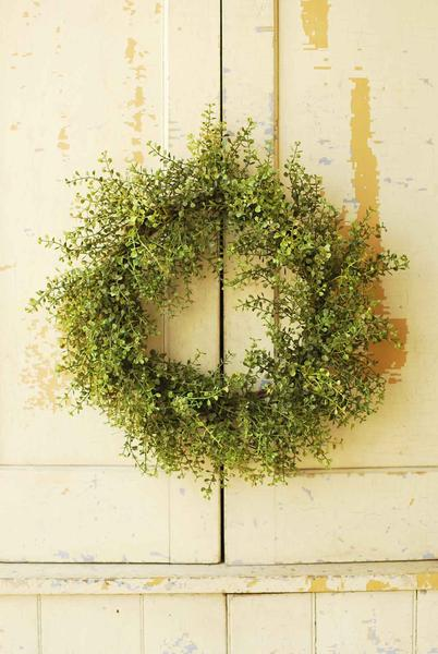 Baby Grass Wreath, $32