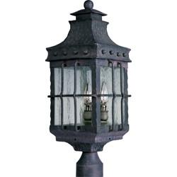 3-Light Outdoor Pole/Post Lantern