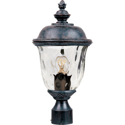 Carriage House VX 1-Light Outdoor Pole/Post Lantern 40426WGOB