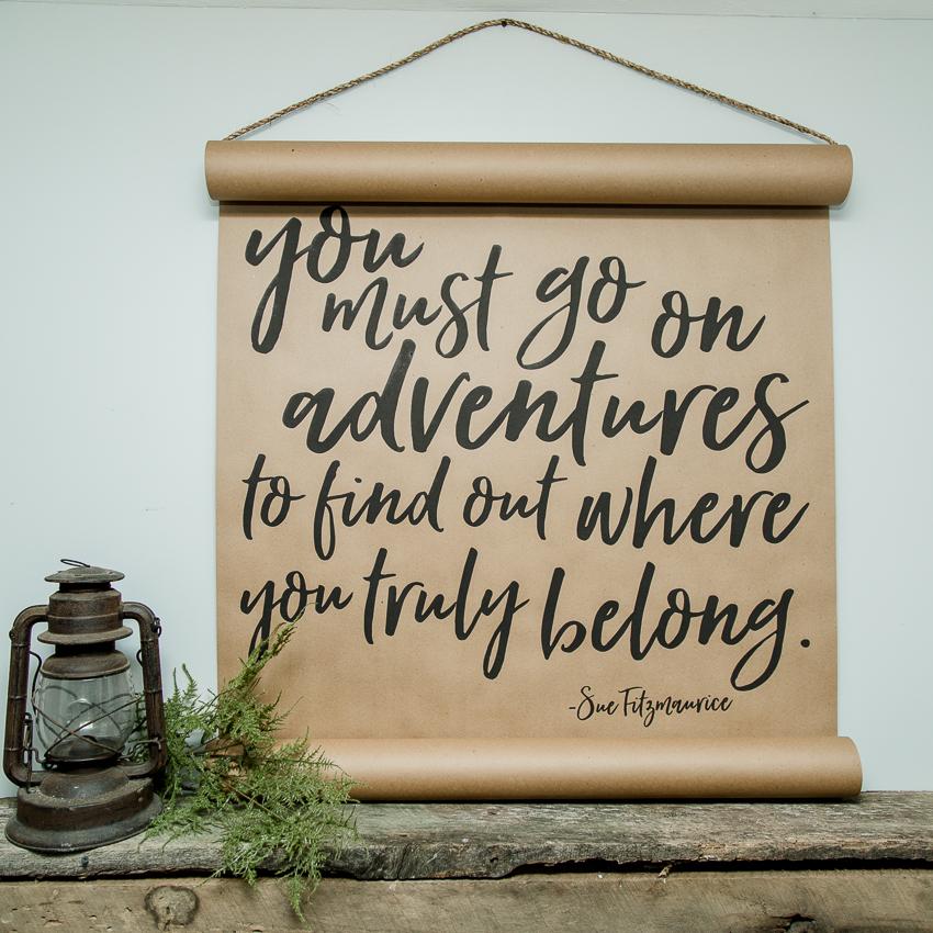 Adventure Scroll
