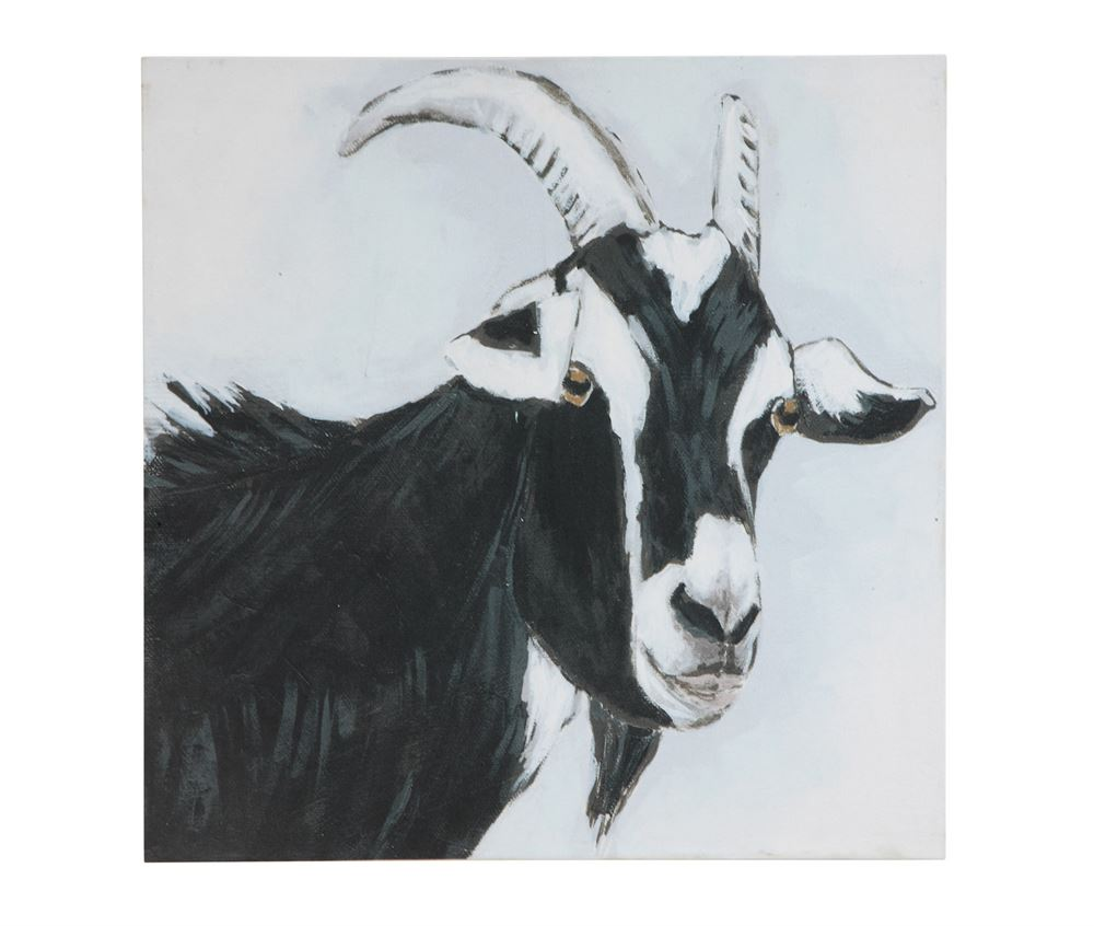 Goat Canvas, $38