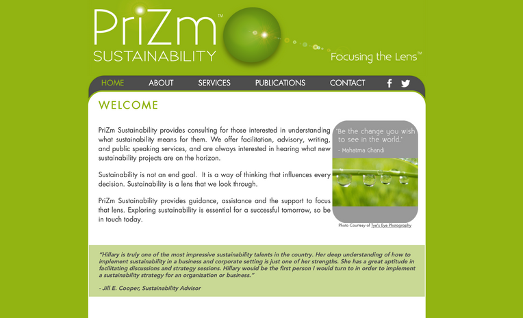 PriZm Sustainability