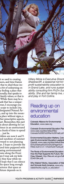 Article for Rocky Mountain Parent Magazine