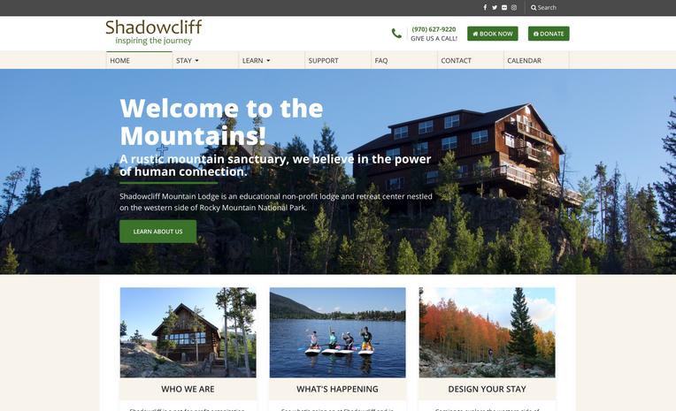 Shadowcliff Website
