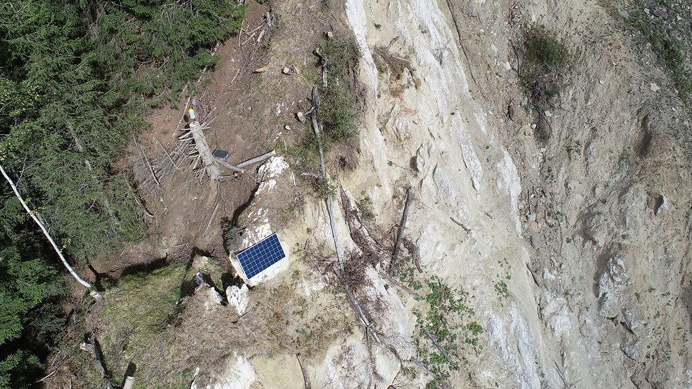 monitoring glissement de terrain