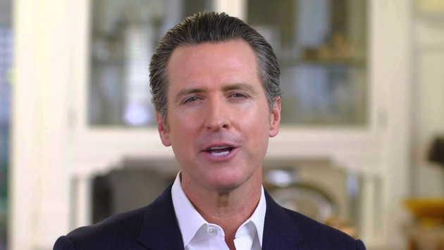 "Lt. Governor Gavin Newsom says ""Vote No on Prop. F"""