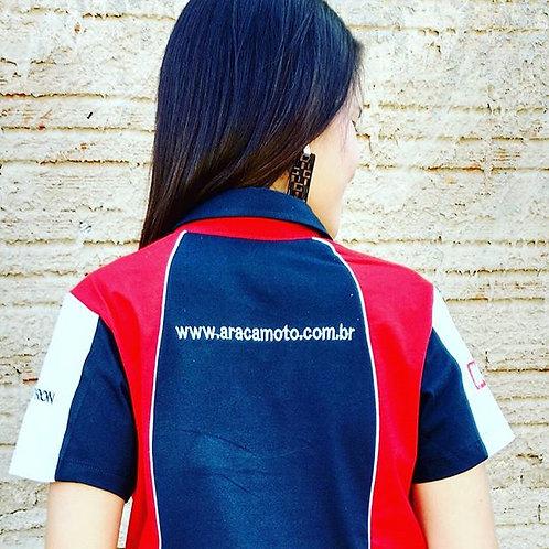 Pólo  Feminina Araça Moto
